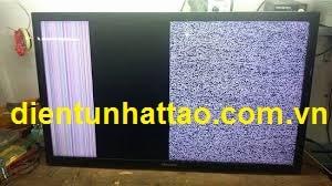 Tivi có sọc màn hình cần sửa màn hình