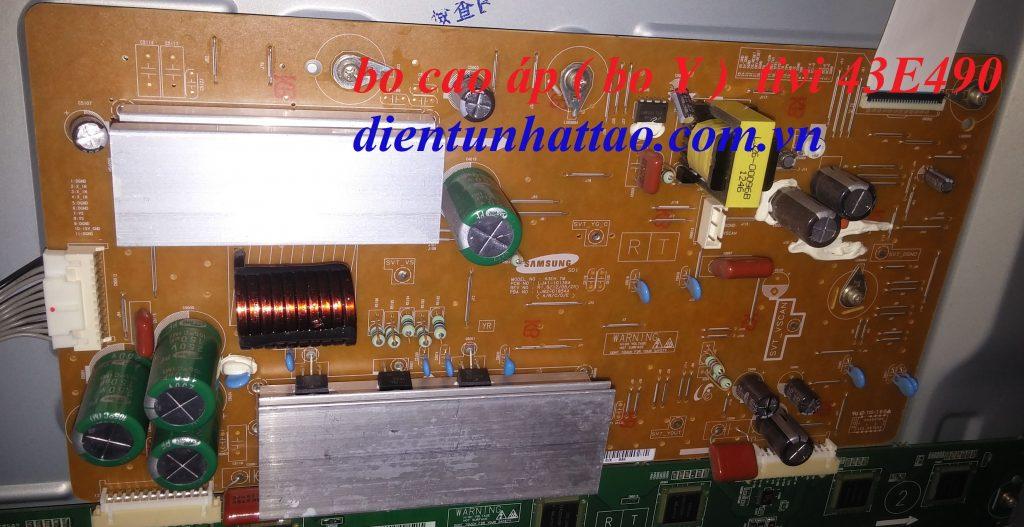 bo cao áp tivi samsung 43E490 của điện tử nhật tảo