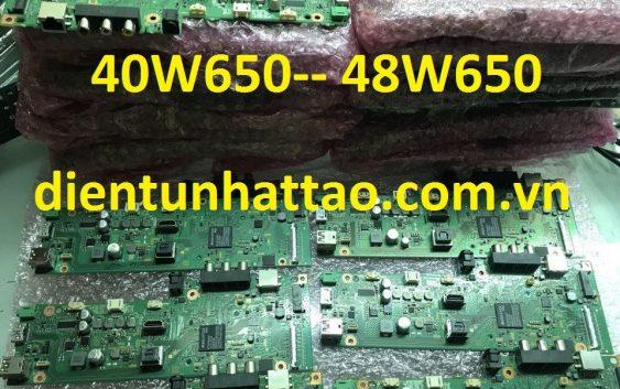 bo xử lý tivi SONY 48W650